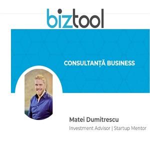Investment Advisor | Startup Mentor pe BizTool.ro