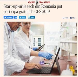 Start-up-urile tech din România pot participa gratuit la CES 2019