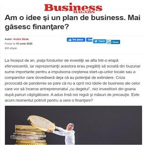 Am o idee şi un plan de business. Mai găsesc finanţare?ntare-19254210